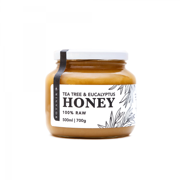 tea tree eucalyptus raw honey